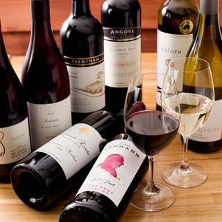 ジビエと相性抜群。オセアニアワインとお楽しみ下さい