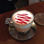 kawara CAFE&DINING - フランボワーズラテ