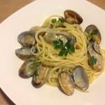 エル・トレス - 牡蠣と浅利のオイルソース