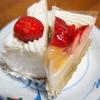 アルション - 料理写真:苺ショートケーキ(250円)、フルーツケーキ(220円)