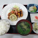 松月食堂 - 「日替定食」650円