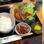 謙心 - 多治見市 謙心 日替わり定食780円 2015.1.27撮影