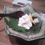 Tsukiakari - 湯葉刺し