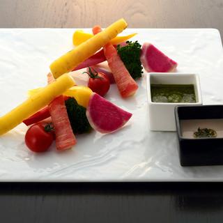 栃木県の農園から直送される野菜たち