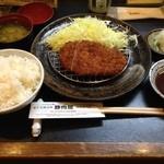 34658571 - 黒豚ロースとんかつ定食 1250円(税込)