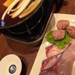 酒肴家 - ブリしゃぶ