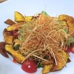 さかずき屋 - 十品目の野菜サラダ