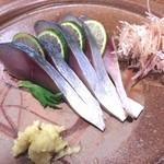 さかずき屋 - 鯖刺身
