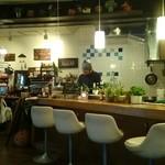 cafe かわのほとり - 店内