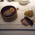 ヘイフンテラス - 點心と焼き物の盛り合わせ前菜