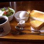 コーヒーハウス葡瑠満 - 料理写真:葡瑠満モーニングAセット480円
