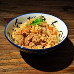 鶏そば十番156 - 鶏炊きご飯
