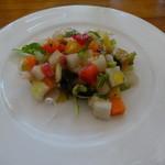 野菜料理とスープカレーのお店 南葉亭 - 草食セット:季節の前菜