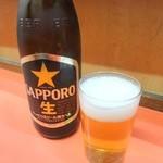 百番 - 中瓶ビール