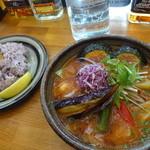 野菜料理とスープカレーのお店 南葉亭 - 草食セット1,500円