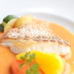 レストランミケイラ - 真鯛のソテー アメリカンソース