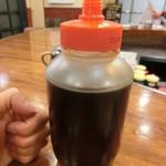 ダイヤ - シロップボトルはこの大きさ!