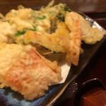 そじ坊 - 季節の天ぷら。