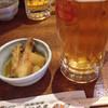 沖縄茶屋 - 料理写真:この日のお通しはなぜかカレー味
