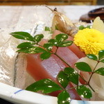 長松 - 料理写真:細魚と烏賊が美味かったな~