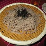 松吟庵 - ざる蕎麦 650円