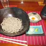 松吟庵 - 山の芋とろろ蕎麦(冷) 950円