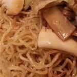 中華ごはん れんげ食堂 - 五目あんけけ焼きそば 2015.1
