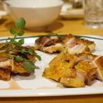 鳥長 - 地鶏3種の食べ比べ