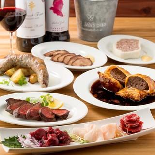 牛、豚、鳥に飽きた肉食の皆様へ贈るヘルシーなジビエ料理
