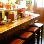沖縄食堂 - カウンター