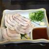相撲鶏 - 料理写真:鶏のたたき
