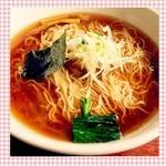 くろ川 - ラーメン(醤油)☆
