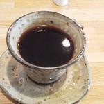 カフェ モナミ - フレンチコーヒー390円 2015年1月
