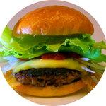 ピコピコ - 料理写真:『しまね和牛チーズバーガー』 お肉はしまね和牛100%・ボリュームたっぷり100gパティ。