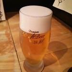 さかなや いぬい - 生ビール