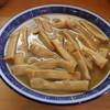 Kouwatei - 料理写真:竹メンマ増し、山のようなメンマ