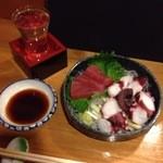 おでん酒菜 たばた - たこぶつと日本酒