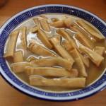 好和亭  - 料理写真:竹メンマ増し、山のようなメンマ