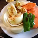 桃山 - 野菜盛合せ