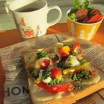 3rd フロア - クロックムッシュ風オープントースト