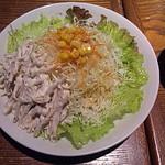 ハローエッグ - ごぼうサラダ。盛り付けが綺麗!