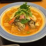 リンガーハット - かきちゃんぽん(トムヤムクン風スープ)スモール 712円☆(第四回投稿分①)