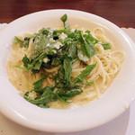 34686037 - 【新地でランチ】バターとパルメザンチーズのスパゲティ \900