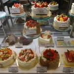 レーブドゥシェフ - ホールケーキのラインナップ