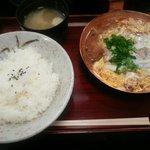 喝鈍 - WWかつどん(900円)