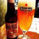 BAR WORLD BEER'S - ピンクグレープフルーツビール♡