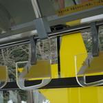 34693152 - 工場まで行くバスのつり革「ビールジョッキ」なんです♪