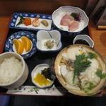 姫松屋 - 具雑煮定食 竹 1700円
