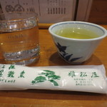 姫松屋 - 芋焼酎のお湯割り