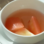 箱根ハイランドホテル ラ・フォーレ - リンゴのコンポート